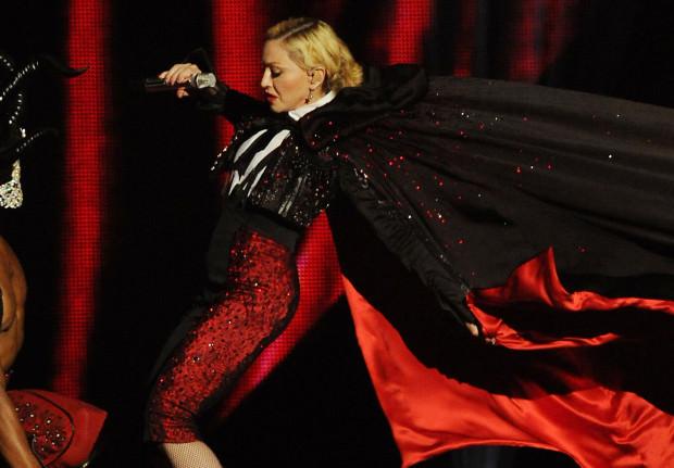 Madonna's team compare awards performance fall to massacre