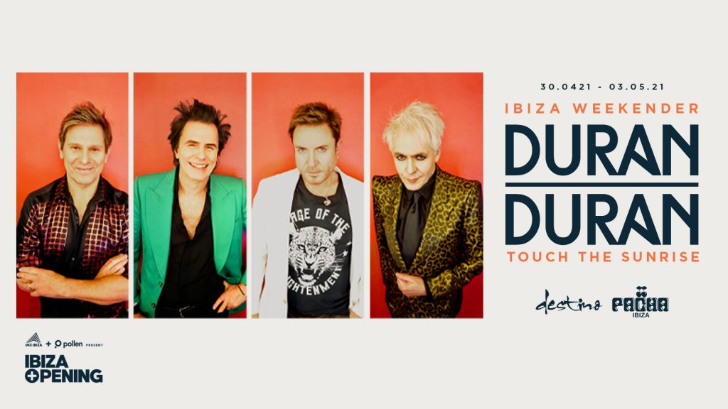 Duran Duran to Celebrate 40th Anniversary in Ibiza